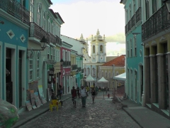 The picturesque Pelourinho